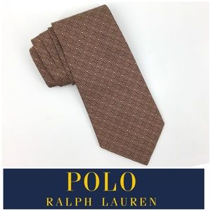 Polo Ralph Lauren Silk Tie Made In the USA